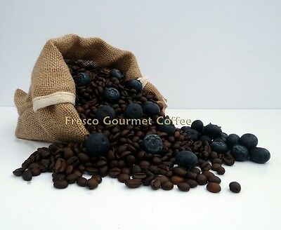 Blueberry Flavour Coffee Beans 100% Arabica Bean/Ground Coffee Flavoured Coffee
