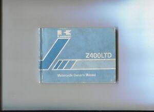 Kawasaki : Z 400 Ltd Owner's Manual 1980 T0prha5t-08010920-736184506