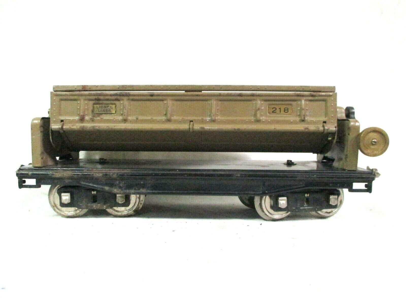 Lionel Lines Dump Car Mohave Double Knob Standard Model Railway B55-8