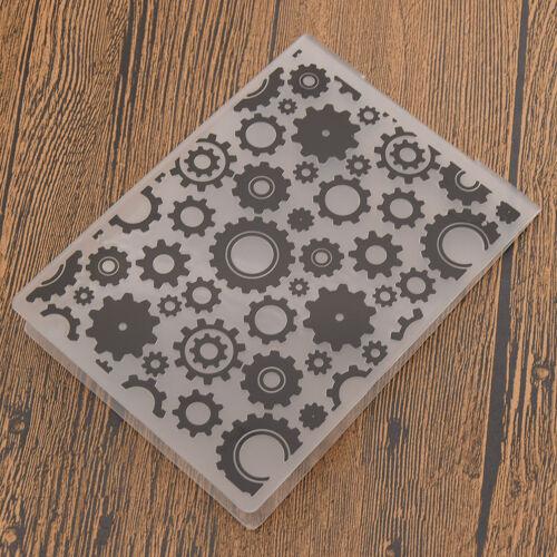 Christmas Heart Plastic Embossing Folder DIY Papercraft Template Decoration Tool