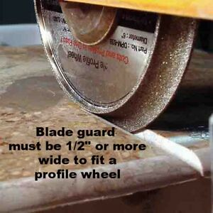 10 Vacuum Brazed Diamond Profile Wheel 4 Tile Saw B 3 8 Demi Bullnose Ebay