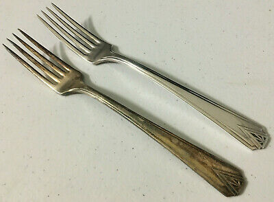 DEAUVILLE 1929 DINNER FORK BY COMMUNITY PLATE