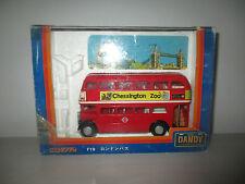 AUTOBUS 2 PIANI CHESSINGTON ZOO F19  TOMICA DANDY JAPAN SCALA 1:43