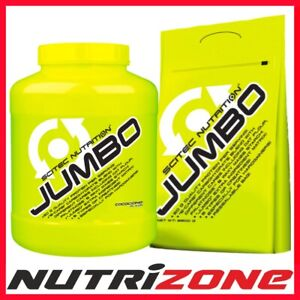 07ca5206a SCITEC NUTRITION JUMBO Whey Protein Hard Mass Gainer BCAA Glutamine ...