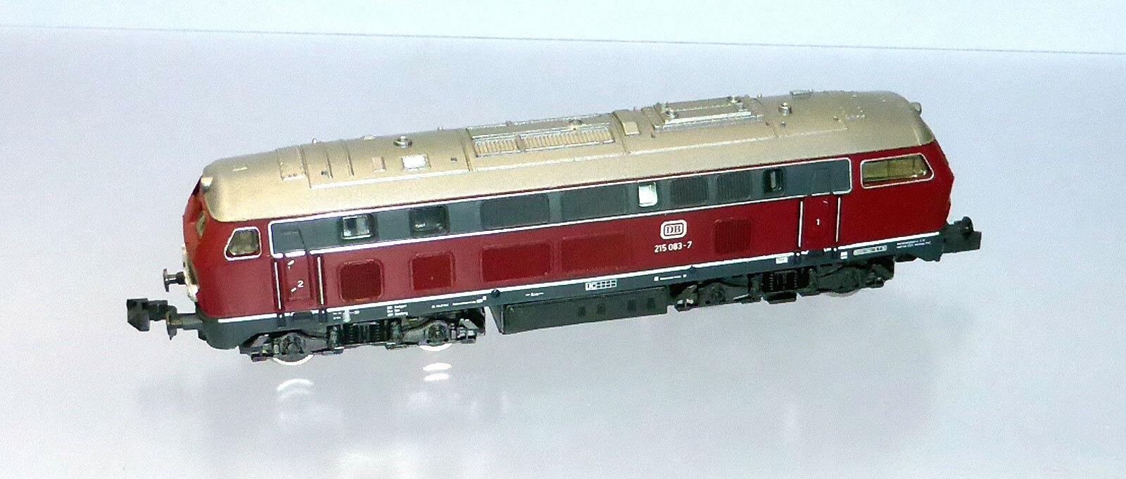 elementi di novità ROCO N N N 02150a; DIESEL 215 083-7 DB in OVP f280  spedizione veloce e miglior servizio