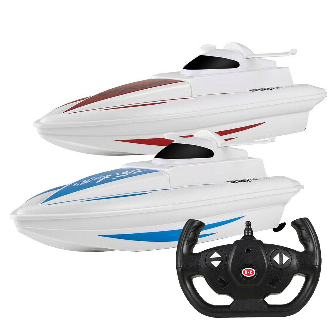 Skytech H101 2.4G Remote Control RC Boat High Speed Racing Boats RTR Pool Toy UK