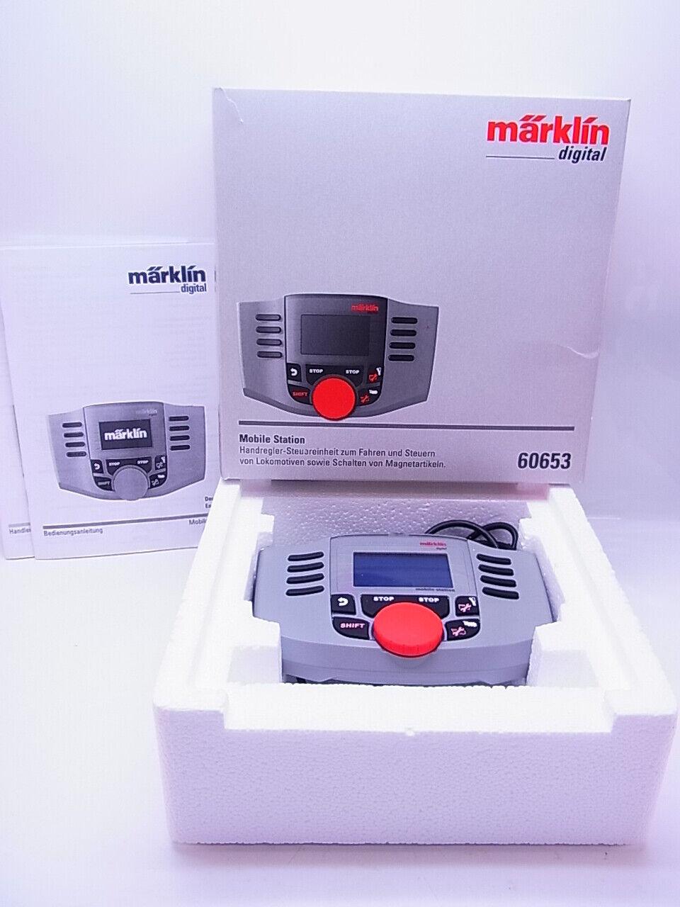 Lot 63851 marklin 60653 mobile station dispositivo di guida digitale esaminato centrale in scatola originale