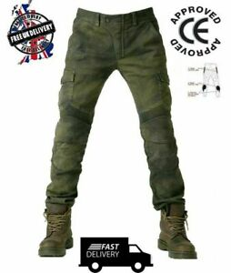 Mens-Motorcycle-Jeans-Motorbike-Pants-Trousers-Free-CE-Armour
