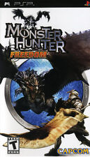 Monster Hunter PSP New Sony PSP