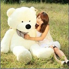 VILAVI 47 White Color 120cm Giant HUGE Cuddly Stuffed Animals Plush Teddy  Bear T