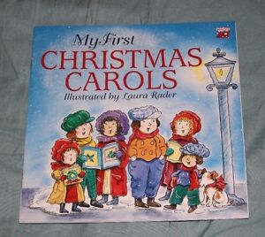 My-First-Christmas-Carols-by-Laura-Rader-1994-Paperback