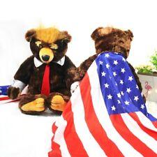 Donald Trump Bear Plush Stuffed Toys USA Campaign Teddy Limited Edition Gift