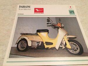 Stecker-Motorrad-Sammlung-Atlas-Motorrad-Daihatsu-50-Hallo-B10-1975