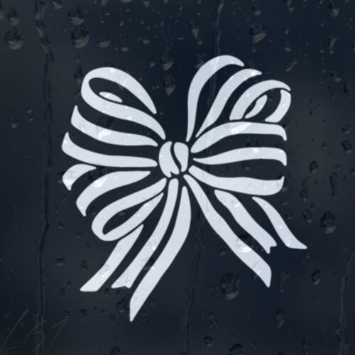 Christmas Bow-Knot Car Decal Vinyl Sticker For Window Bumper Panel Wall Laptop