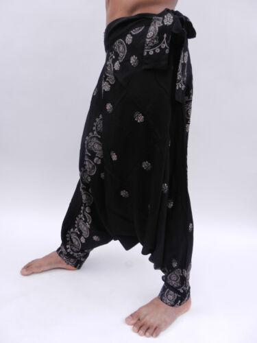 Tie side harem trousers Boho Festival Hippy Hippie Yoga Baggy Alibaba Pants