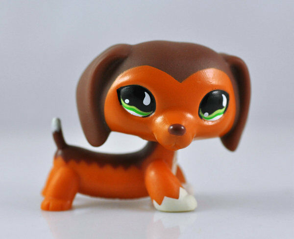 Littlest Pet Shop Dog Child Girl Boy Figure Toy Loose Cute LPS875 without magnet