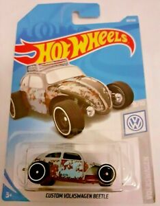 Mattel-Hot-Wheels-Personalizado-Volkswagen-Escarabajo-Nuevo-Sellado
