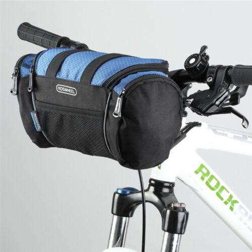 Cycling Explorer Handlebar Bag Frame MTB Bike Front Tube Pannier Storage Pouch