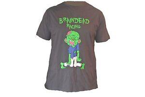 BrainDead-Racing-mens-tshirt-shirt-clothing-bmx-zombie-undead-living-dead-goth