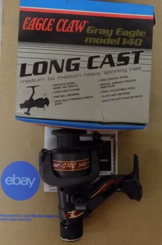 Eagle Claw Gray Eagle Series Spinning Reels NIB Select One
