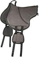 Bareback Pad, Saddle Pad, Bareback Pad Harrys Horse Black Size L