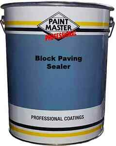 20ltr paintmaster polyurethane resin based block paving sealer
