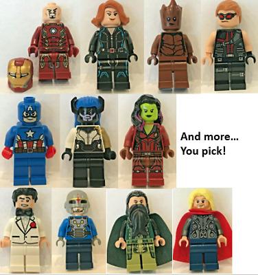Choose Minifig Minifigure Figurine Au choix Lego Super Heroes SH