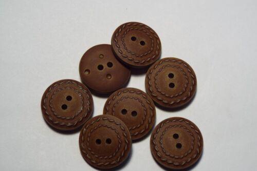 8pc 20mm brown tan faux cuir suite manteau pantalon cardigan kid bouton 2759