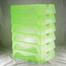 High Quaility Optical Lab 5pcs Green Job Trays Optician Glasses Store Necessary