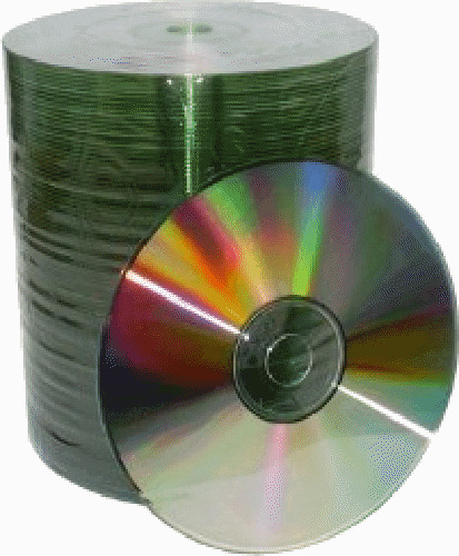 1000 Grade A 52X Shiny Silver Top Blank CD-R CDR Disc Media 700MB Wholesale Lot