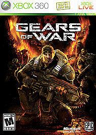 Gears Of War Microsoft Xbox 360, 2006  - $0.99