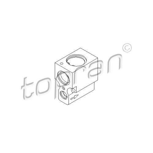Topran expansión válvula de aire acondicionado clima ac válvula AUDI VW SEAT 3063958