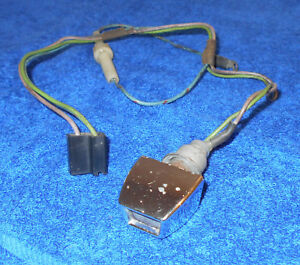 Details about 1967 Mustang Fastback Coupe GT GTA Shelby ORIG DELUXE SEAT  BELT REMINDER LIGHT