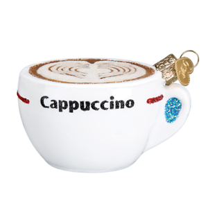 Old-World-Christmas-CAPPUCCINO-32309-X-Glass-Ornament-w-OWC-Box