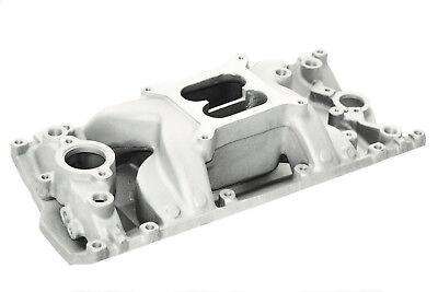 Small Block Chevy Dual Plane Air Gap Aluminum Intake Manifold SBC