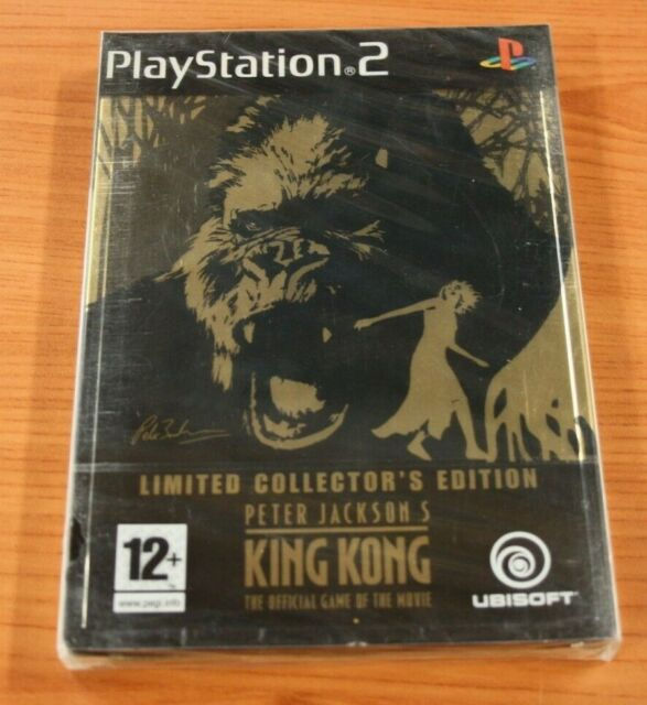 JEU SONY PS 2 Peter Jackson's KING KONG édition COLLECTOR  neuf   vf blister