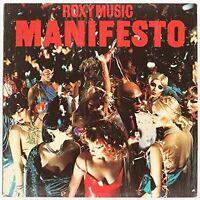 Roxy Music - Manifesto [new Vinyl] Uk - Import
