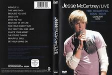 Jesse McCartney - DVD - The Beautiful Soul Tour 05 - DVD von 2006 - Neuwertig !