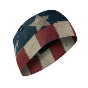 76d5ba4a2be Image is loading Faded-American-USA-Flag-Flex-Stretch-Biker-Headband-