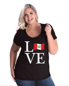 Love-Peru-Women-Curvy-Plus-Size-Scoopneck-Tee