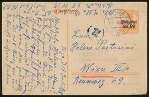 Postgebiet-Ob-Ost-Ganzsache-P-3-Zensurkarte-RIGA-19-7-18-n-WIEN-70578