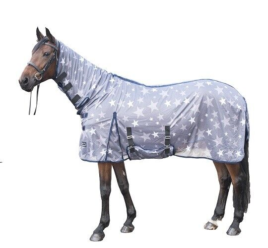 HKM Horse Fly Sheet Stars Combo ALL SIZES & COLOURS