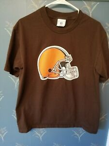 Cleveland-Browns-NFL-T-Shirt-Men-s-Size-M-Brown-Medium
