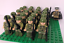 miniature 11 - 21pcs WW2 Minifigures Army Soldiers British Russia Japan US Military