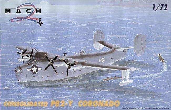 Mach 2 1 72 Consolidated PB2-Y Cgoldnado