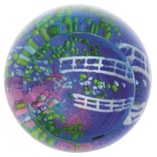 Caithness Glass U19085 Artistic Impressions Lily Pond Paperweight