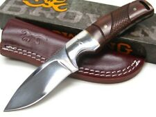 Browning 3220229 Straight Cocobolo Stainless Fixed Blade Hunting Knife + Sheath