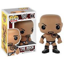 FUNKO POP 2016 WWE THE ROCK 03 w/ Knee Elbo Pads & Tattoos Vinyl Figure IN STOCK