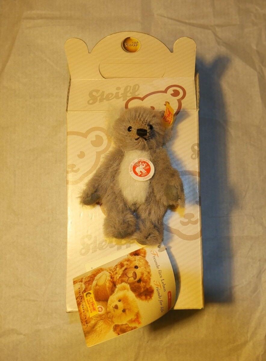 Steiff Teddy Bear   teddybar 10 Alpaca grigio KOALA   raro da collezione   Nuovo di zecca