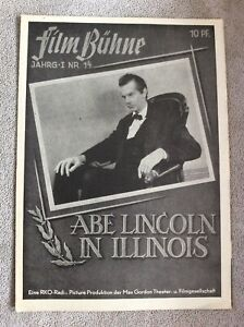 Abe-Lincoln-in-Illinois-IFB-Nr-14-Raymond-Massey
